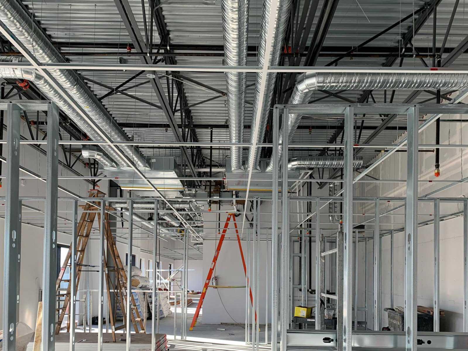 concrete cashmere office construction